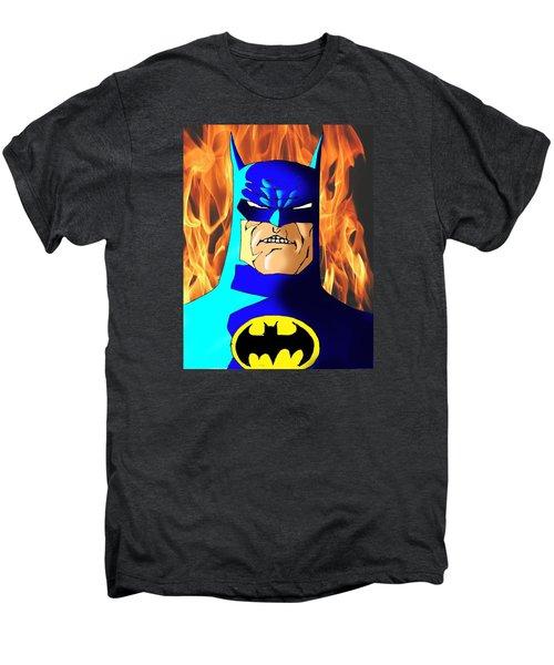 Old Batman Men's Premium T-Shirt by Salman Ravish
