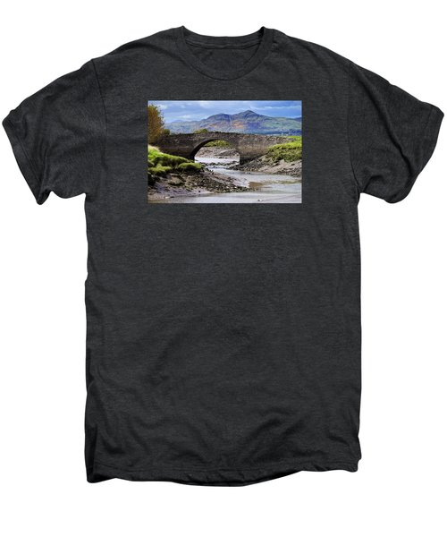 Men's Premium T-Shirt featuring the photograph Scottish Scenery by Jeremy Lavender Photography