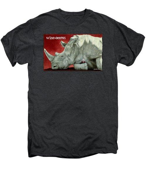 Wine-oceros Men's Premium T-Shirt
