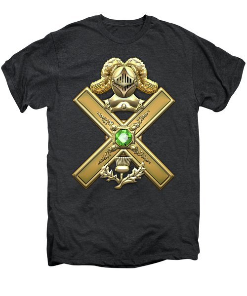 29th Degree Mason - Scottish Knight Of Saint Andrew Masonic Jewel  Men's Premium T-Shirt