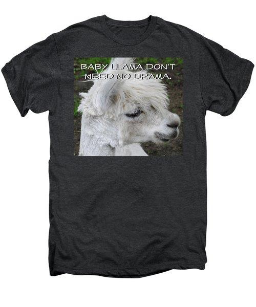Baby Llama Men's Premium T-Shirt