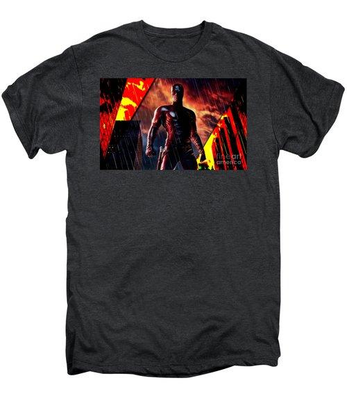 Daredevil Collection Men's Premium T-Shirt by Marvin Blaine