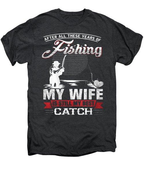 Fishing Men's Premium T-Shirt