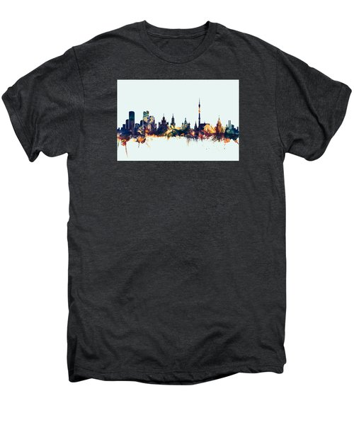 Moscow Russia Skyline Men's Premium T-Shirt