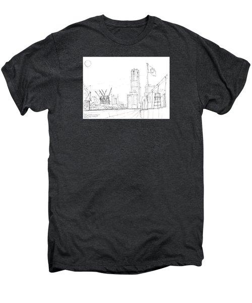 5.2.japan-1-tokyo-skyline Men's Premium T-Shirt by Charlie Szoradi