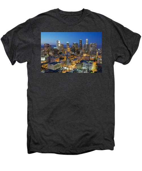 A Night In L A Men's Premium T-Shirt by Kelley King