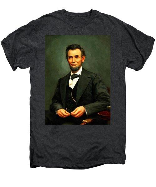 Abraham Lincoln 17 Men's Premium T-Shirt