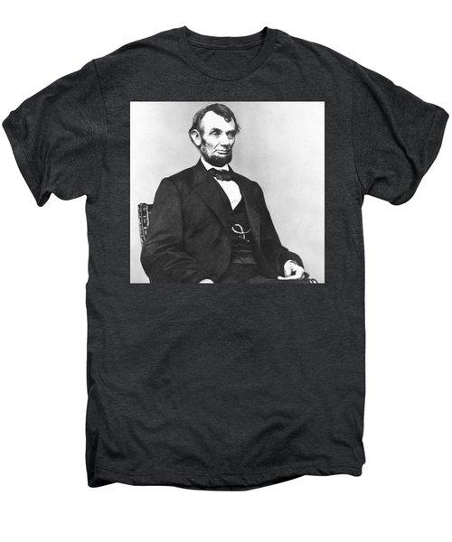 Abraham Lincoln 25 Men's Premium T-Shirt