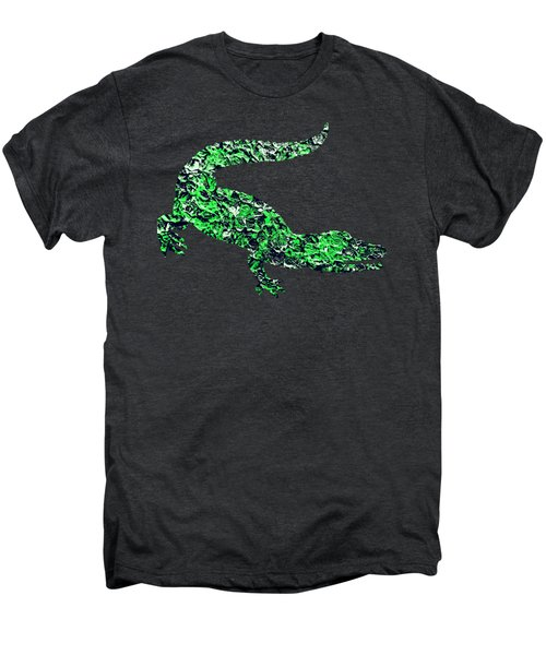 Abstract Crocodile Men's Premium T-Shirt