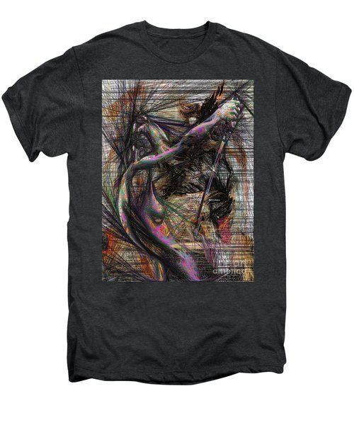 Abstract Sketch 1334 Men's Premium T-Shirt