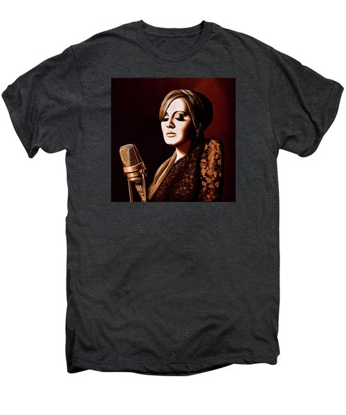 Adele Skyfall Gold Men's Premium T-Shirt