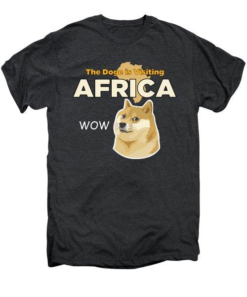 Africa Doge Men's Premium T-Shirt by Michael Jordan