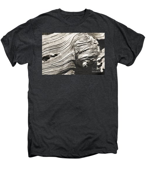 Men's Premium T-Shirt featuring the photograph Aging Of Time by Yulia Kazansky