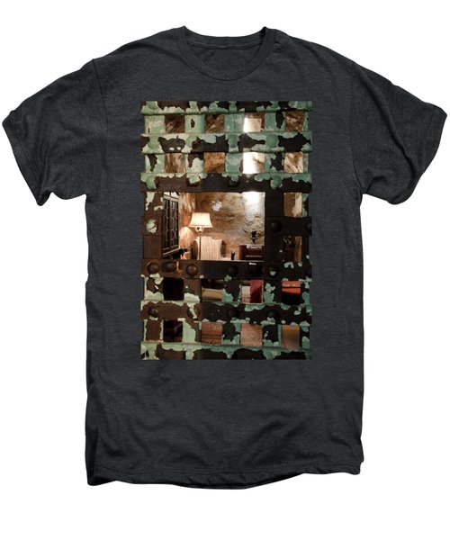 Al Capone Cell Men's Premium T-Shirt by Crystal Wightman