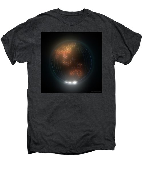 Albedo - Asia And Australasia By Night Men's Premium T-Shirt