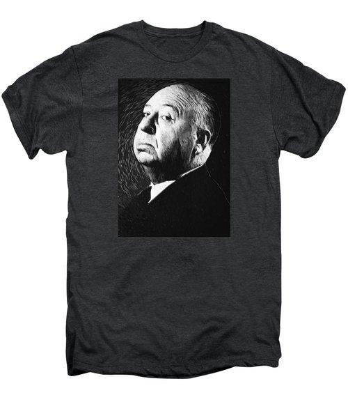 Alfred Hitchcock Men's Premium T-Shirt by Taylan Apukovska