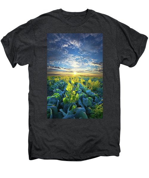 All Joined As One Men's Premium T-Shirt by Phil Koch