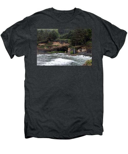 Along The Oregon Coast - 5 Men's Premium T-Shirt