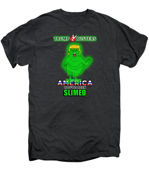 America, You've Been Slimed Men's Premium T-Shirt by Sean Corcoran