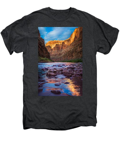 Ancient Shore Men's Premium T-Shirt by Inge Johnsson
