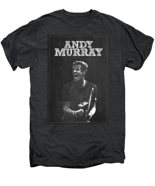 Andy Murray Men's Premium T-Shirt by Semih Yurdabak