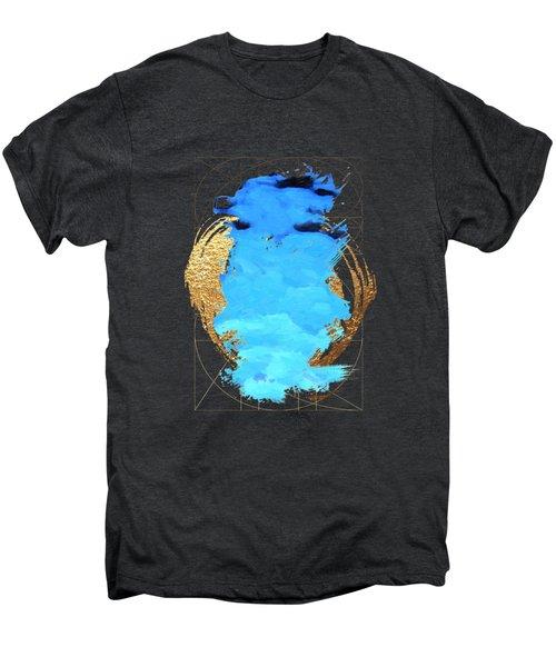 Aqua Gold No. 1 Men's Premium T-Shirt