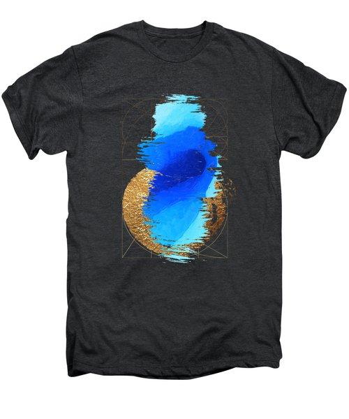 Aqua Gold No. 2 Men's Premium T-Shirt