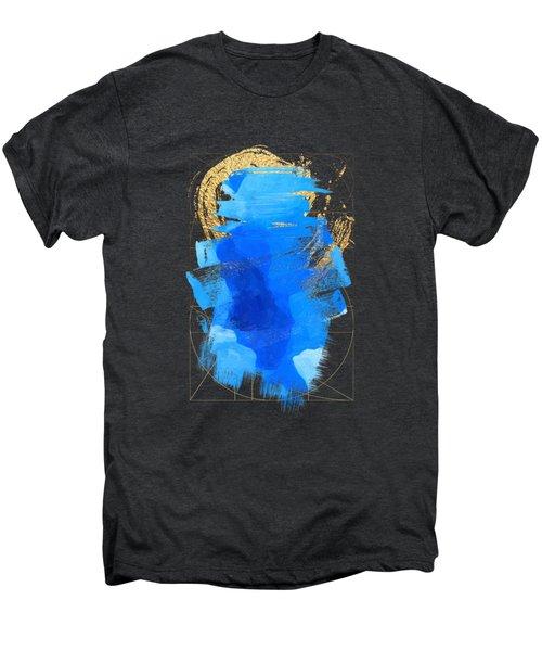 Aqua Gold No. 3 Men's Premium T-Shirt by Serge Averbukh