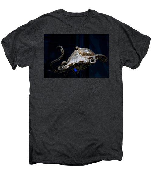 Aquatic Red Wing Fan Men's Premium T-Shirt