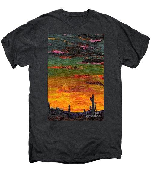 Arizona Sunset Men's Premium T-Shirt