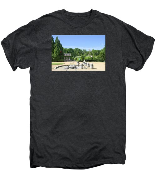 Men's Premium T-Shirt featuring the photograph Armistice Clearing In Compiegne by Travel Pics