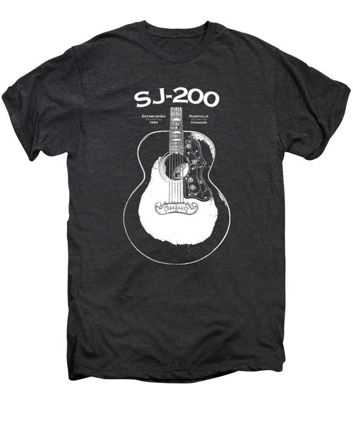 Gibson Sj-200 1948 Men's Premium T-Shirt by Mark Rogan