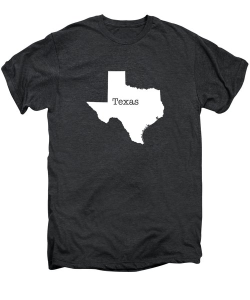 Texas State Men's Premium T-Shirt by Bruce Stanfield