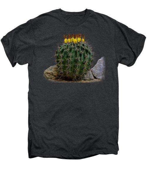 Barrel Against Wall No50 Men's Premium T-Shirt