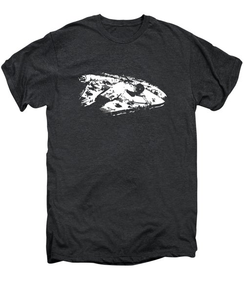 The Falcon In The Shadows Men's Premium T-Shirt