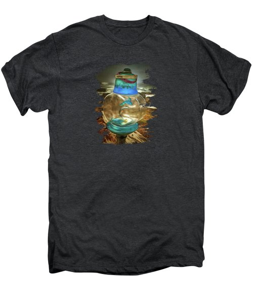 Beach Treasures - Faith Men's Premium T-Shirt by Thom Zehrfeld