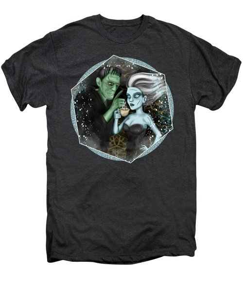 Frankenstien Fantasy Art Men's Premium T-Shirt