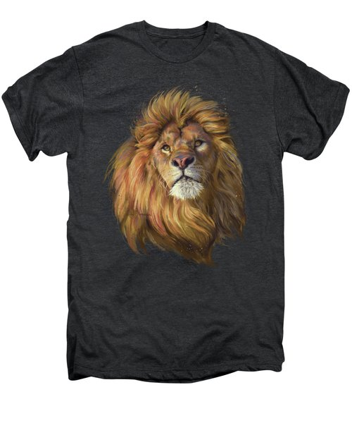 African Lion Men's Premium T-Shirt