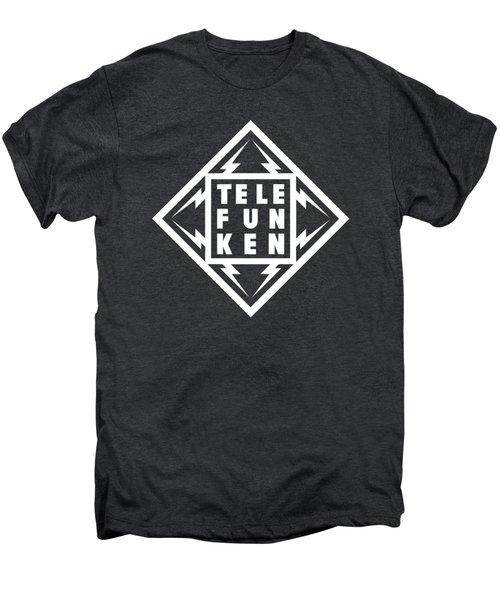 Telefunken Fantastic German Media Company Logo Men's Premium T-Shirt
