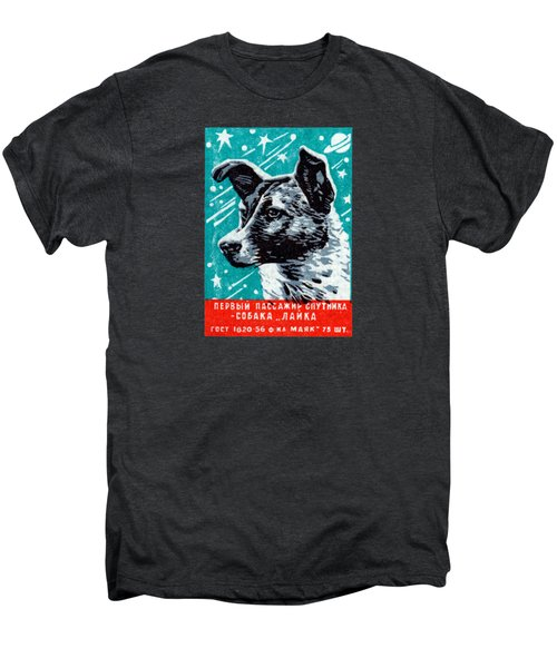1957 Laika The Space Dog Men's Premium T-Shirt