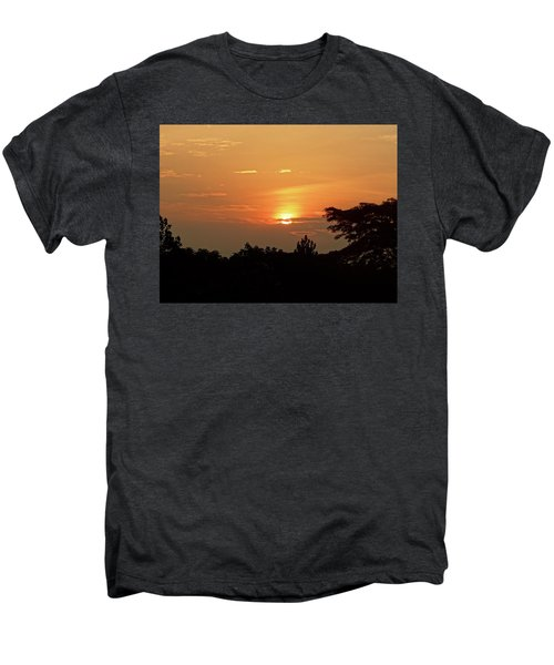 As The Sun Sets ... Orange Men's Premium T-Shirt by Exploramum Exploramum