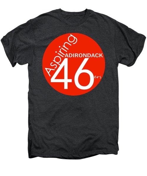 Aspiring Adirondack 46ers Trail Marker Men's Premium T-Shirt