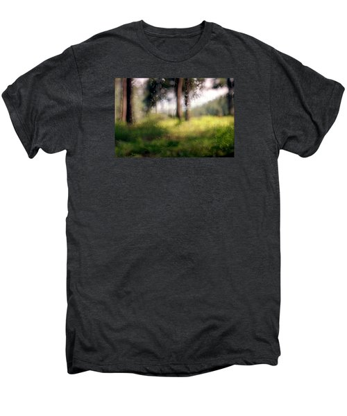 At Menashe Forest Men's Premium T-Shirt by Dubi Roman
