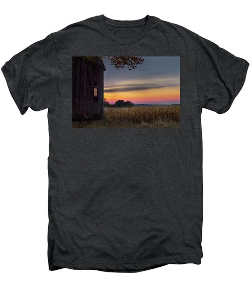 Men's Premium T-Shirt featuring the photograph Autumn Glow by Bill Wakeley