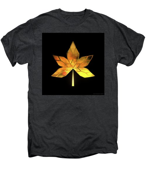 Autumn Leaves - Frame 200 Men's Premium T-Shirt