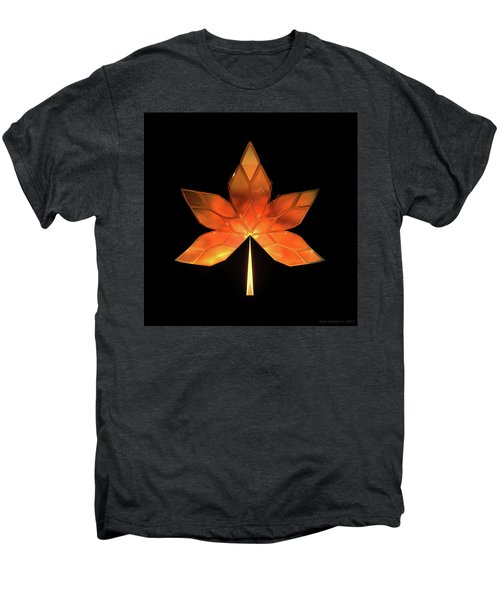 Autumn Leaves - Frame 260 Men's Premium T-Shirt