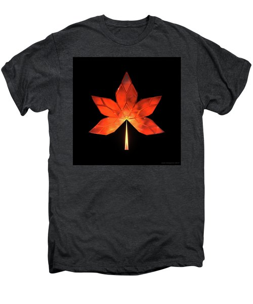 Autumn Leaves - Frame 320 Men's Premium T-Shirt