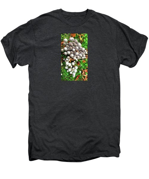 Autumn Mushrooms Men's Premium T-Shirt by Nareeta Martin