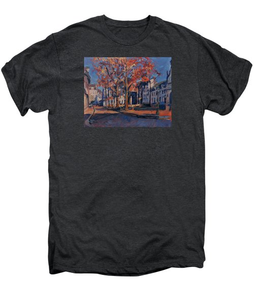 Autumn On The Square Of Our Lady Maastricht Men's Premium T-Shirt by Nop Briex
