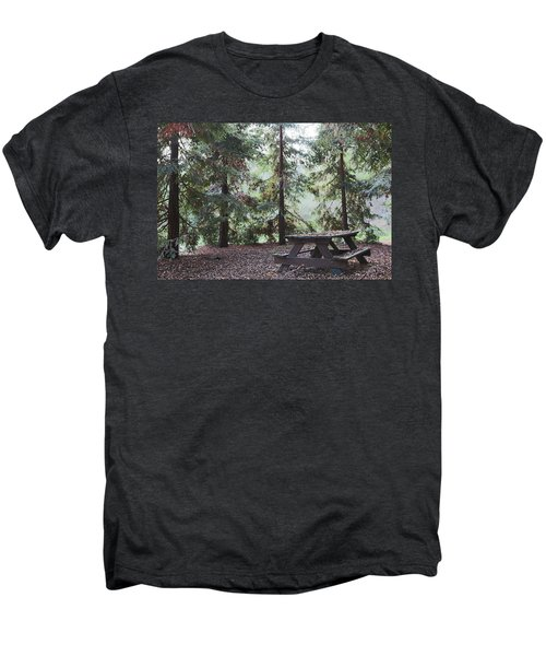 Autumn Picnic In The Woods  Men's Premium T-Shirt